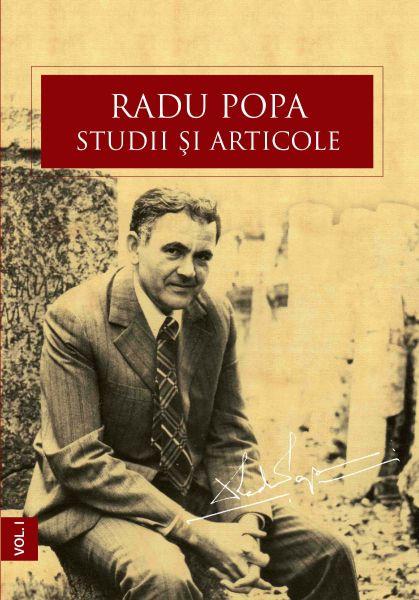 """Volumul """"Radu Popa. Studii și articole"""", 2014"""